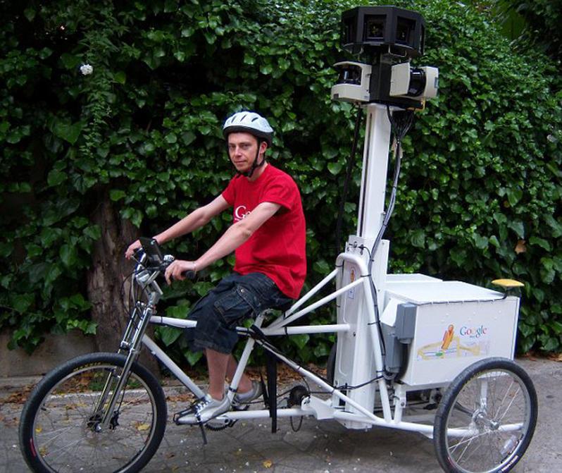 google велосипед